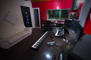 Studio d'enregistrement NovaSon - Control Room